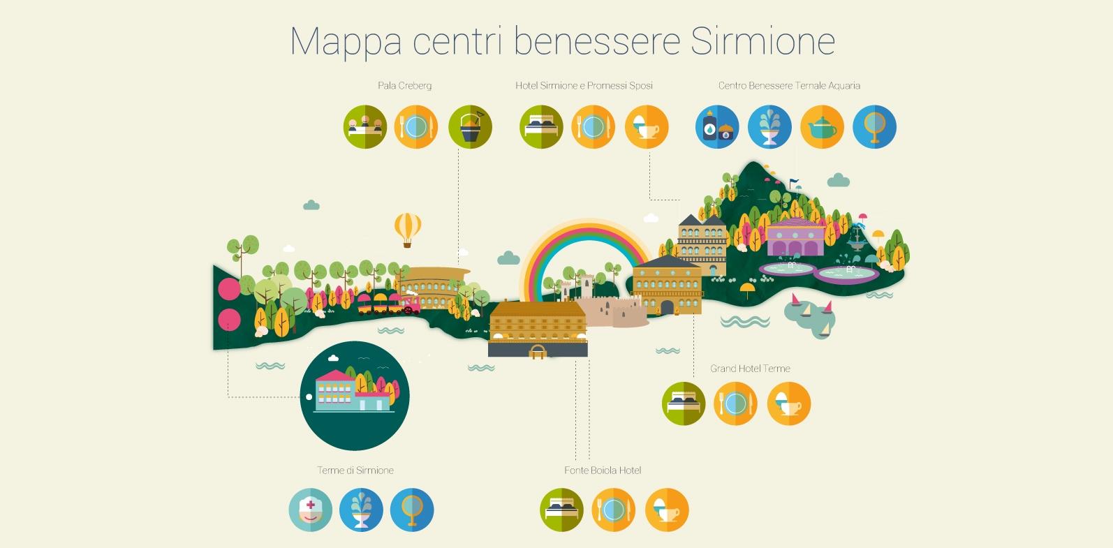 Mappa Centri Benessere Sirmione