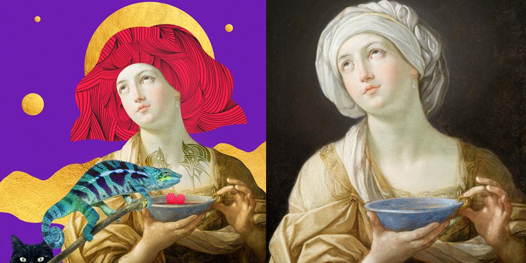 Portrait of a Woman Guido Reni 1638 - 1639